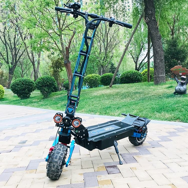 2020 new products most popular two wheel 11 inch 8000w 72v adult electric scooters with high power