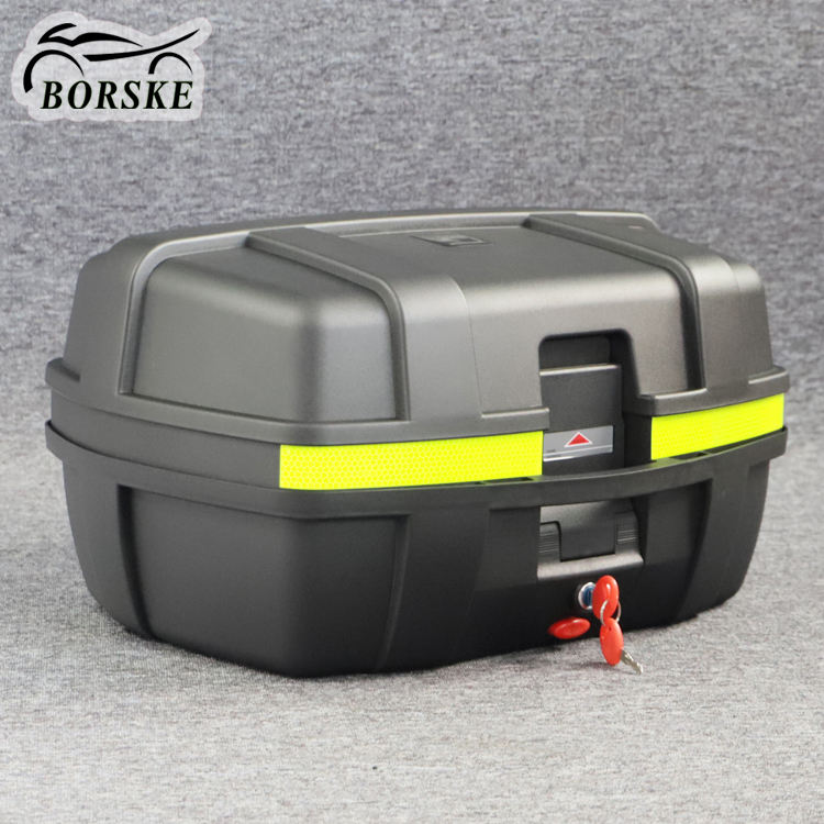 New motorcycle tail box trunk motorbike delivery box with good price