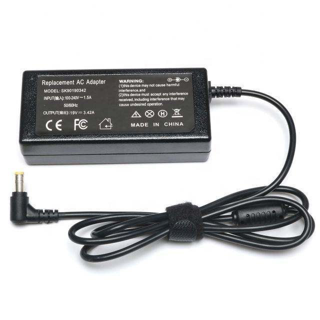The new model can be applied for ACER plum blossom tail B-ACE19V3.42A-5525 computer power adapter