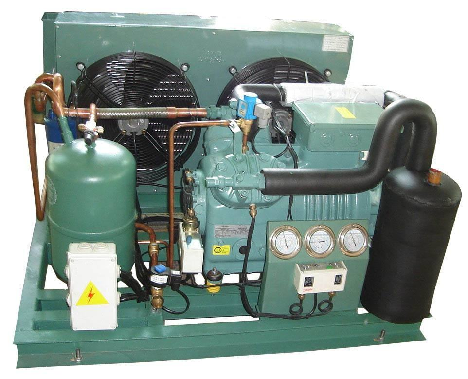 condensing unit Two stage/air cooled dry condenser/refrigeration unit