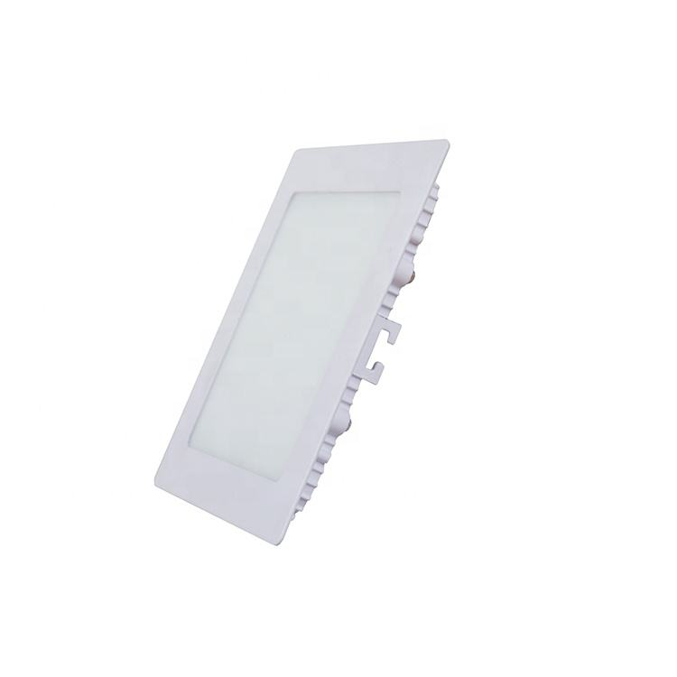 Waterproof 9w square aluminum frame nano guide office ceiling panel light led panel lighting