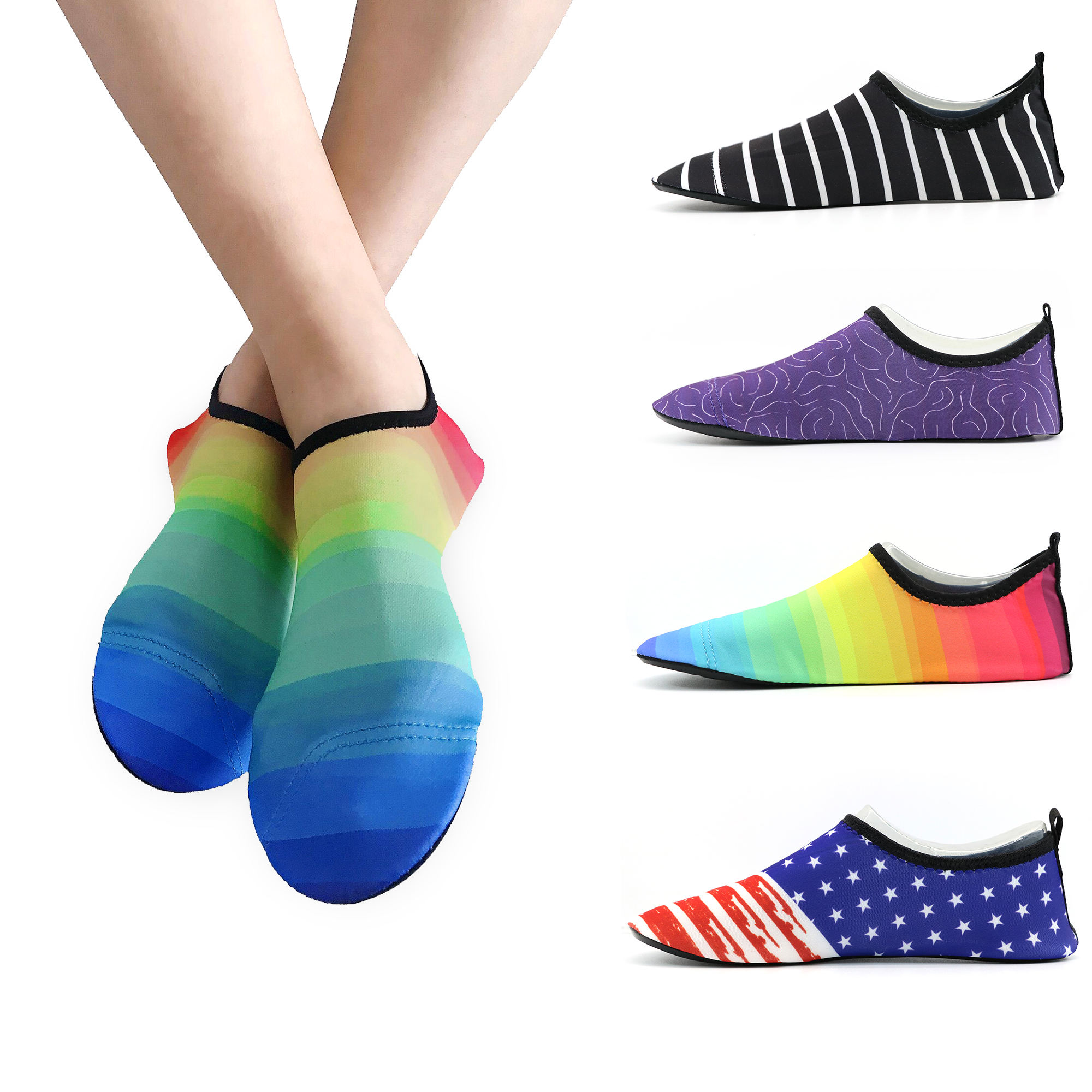 Casual Men Sneakers Sports Beach Water Women Skin Mens Aqua Shoes