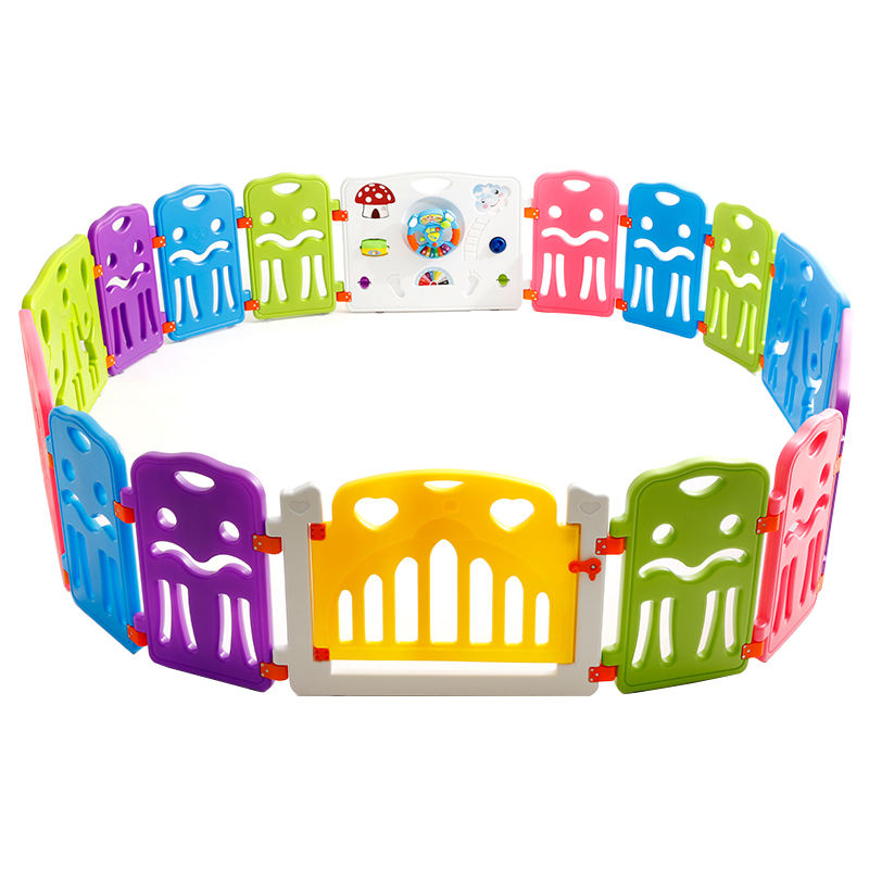Colorful Custom Plastic Baby Playpen