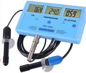 Chin-up Multifunctional Water Quality Test Monitor digital PH/ORP/EC/CF/TDS Temp Aquarium monitor