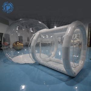 Opblaasbare Bubble Tent buiten transparant huis koepeltent