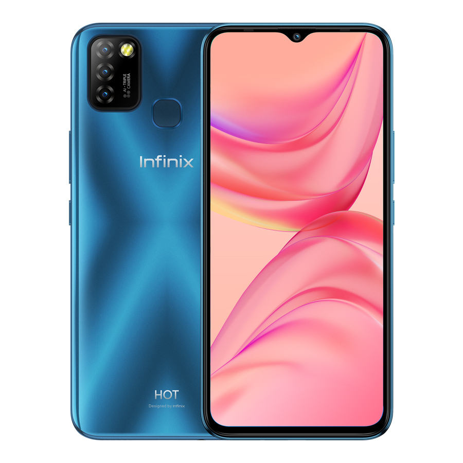 "Infinix Heißer 10 Lite 6.6 ""'HD + 2GB 32GB 5000mAh Batterie 13MP AI Triple Kamera Mobile telefon"
