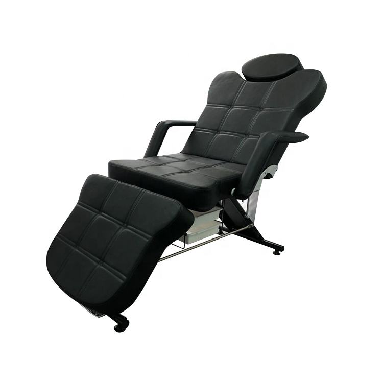 Hot sale Salon Furniture Portable Adjustable Spa Beauty Facial Table/ Massage Bed Tattoo Chair For Sale