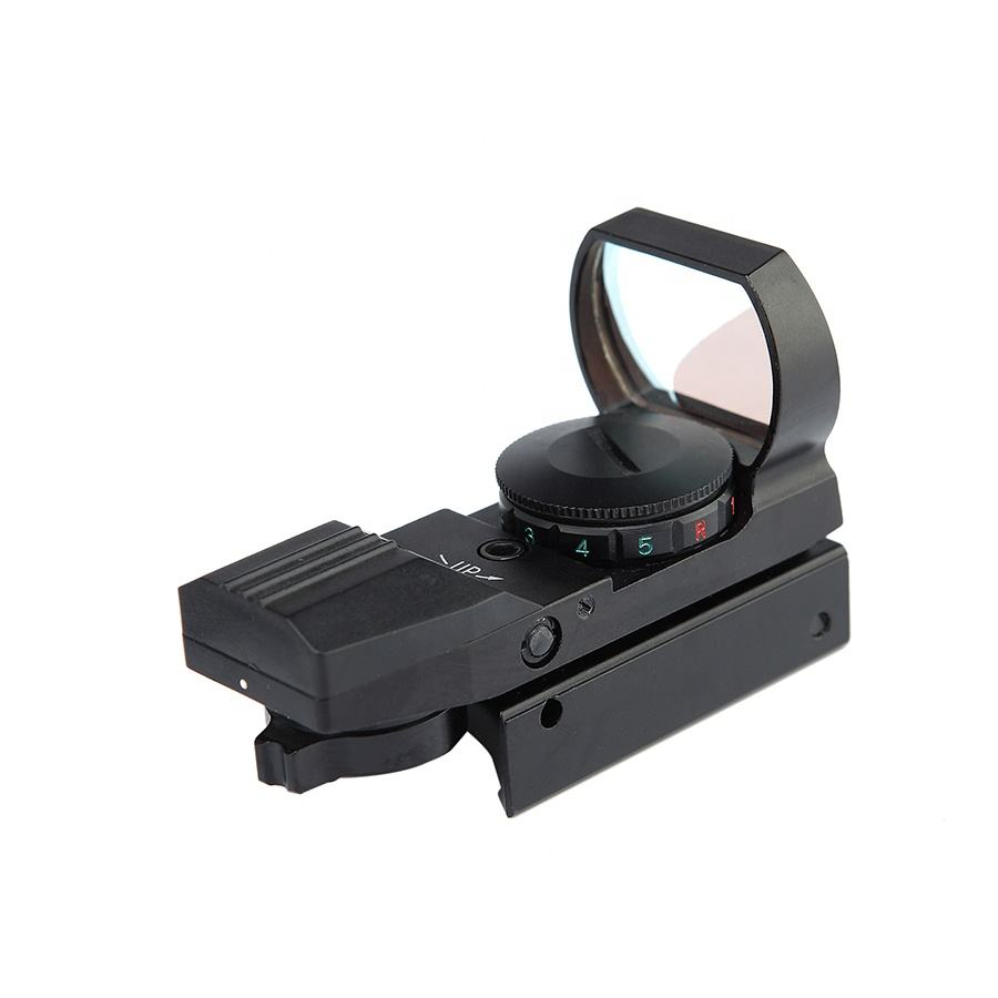 Ar tático riflescopes 15 4 Reticle Red Green Dot Sight scope tactical holographic reflex sight para caça tático