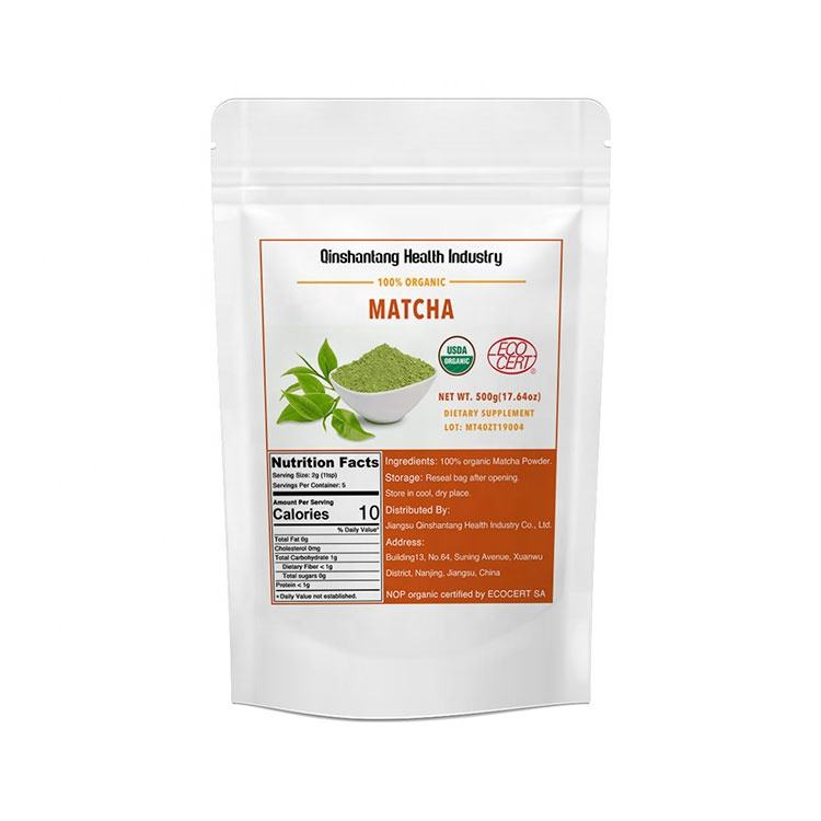 Best quality 100% Pure Organic Certified Organic Buy Green Tea Matcha Powder