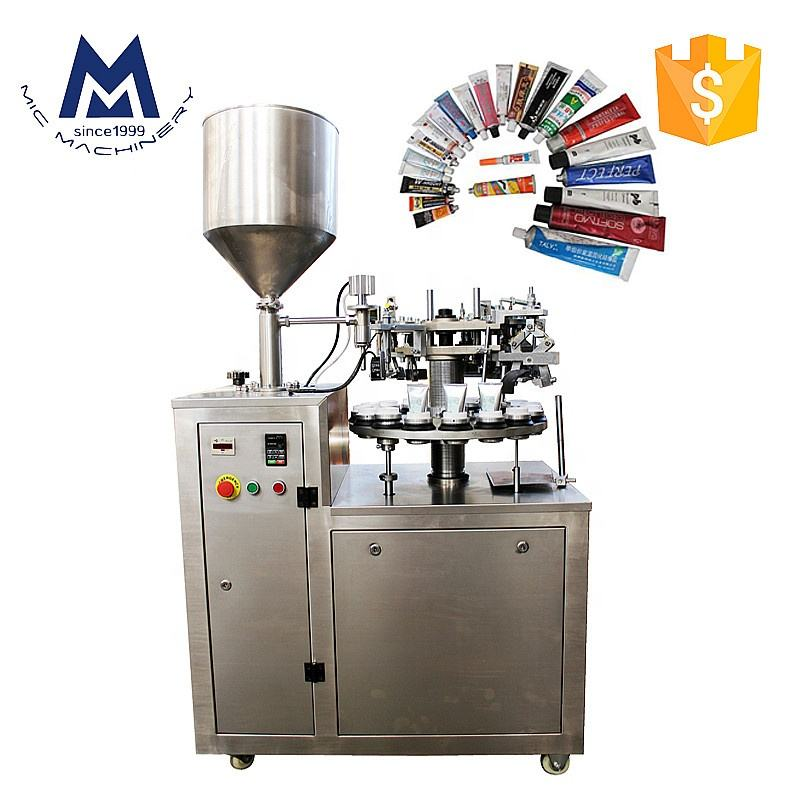 MIC Paint small manual aluminum tube filling sealing machine