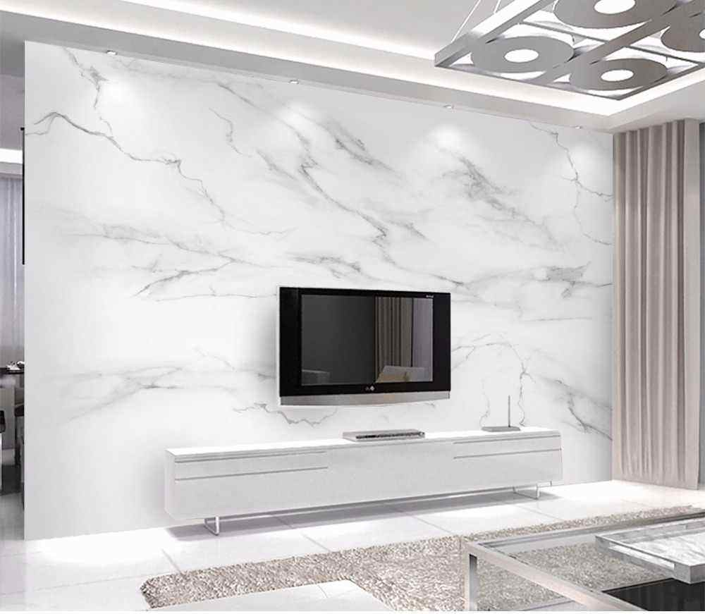 Indoor Wall Polished Volakas Write Marble Tiles, Write Marble Slabs#