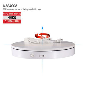 BKL 360 degrees electric spinning display turntable for Christmas Tree 360 turntable