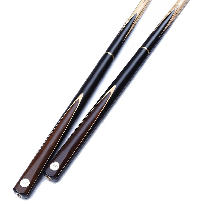 Hot selling low price hand made 3/4 joint snooker cue