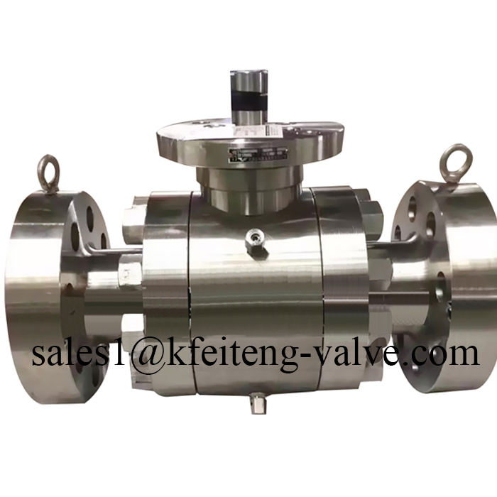 "DN80 3"" inch cf8m astm a351 Forged steel floating ball valve"