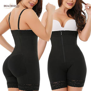 Best Selling Waist And Thigh Shaper Big Size Shapewear With Shoulder Strap Hourglass Body Butt Lifter