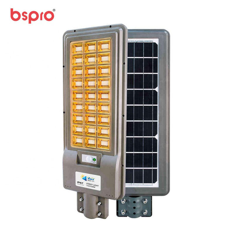 Bspro China manufacturer Solar lighting system outdoor led street all in one for sale