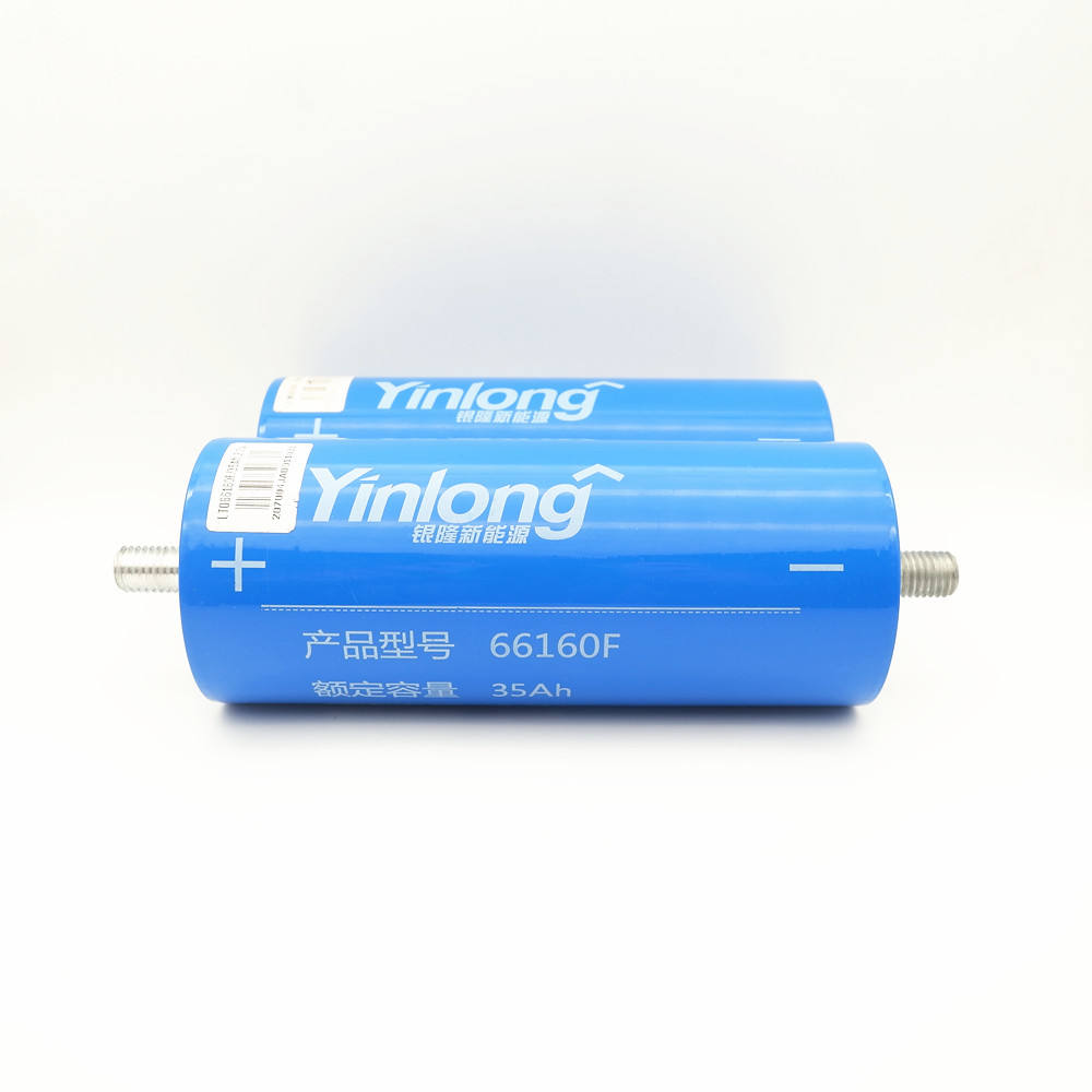 In stock Yinlong best quality 2.3V 66160 35Ah original LTO battery cell