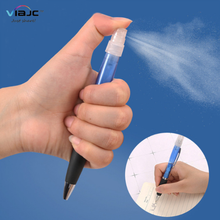 3ml promotional portable pocket empty anti bacterial material plastic perfume spray ball pen