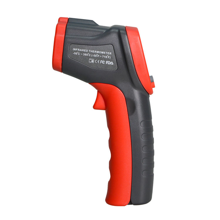 new products red industrial digital thermometer gun