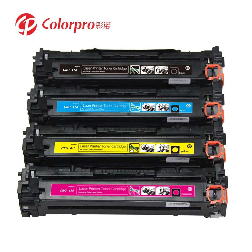 Hot Sale! Replacement Cartridge Toner For Canon 8350 CRG-418 CRG418 Status Bulk Packaging Feature Origin Type Full Warranty