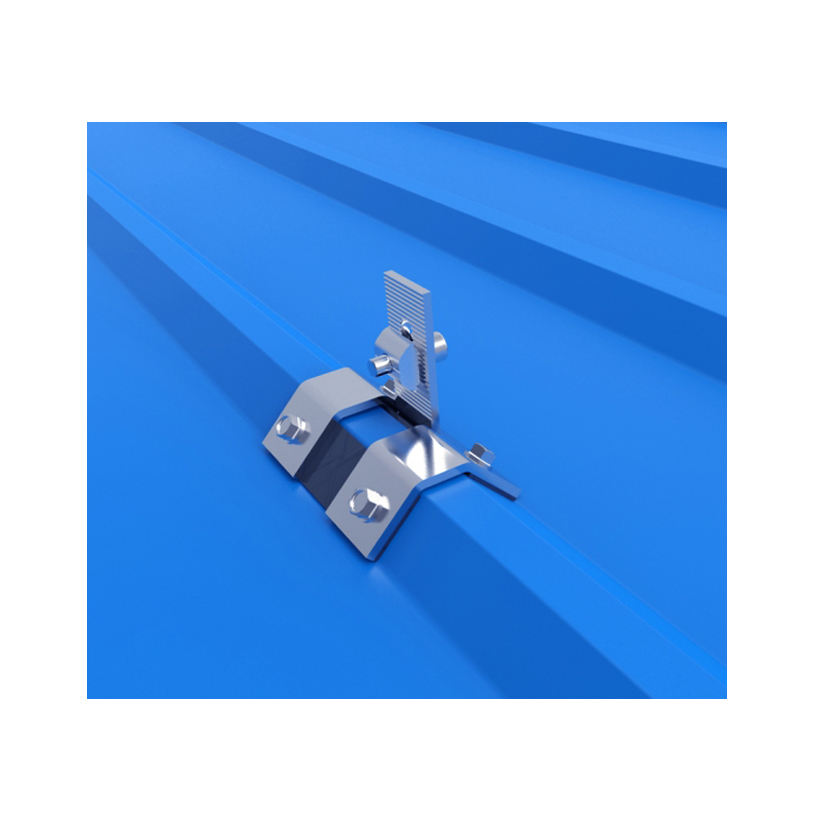 Trapezoid Metal Roof Sheet Hooks For Solar Panel Pitched Roof Mounting System