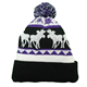Winter Wool Knitted Christmas Warm Hats For Women