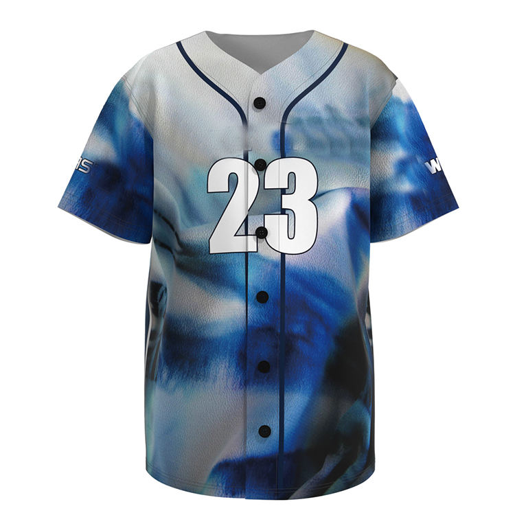 100%polyester Fashion Plain Single japanese baseball jersey