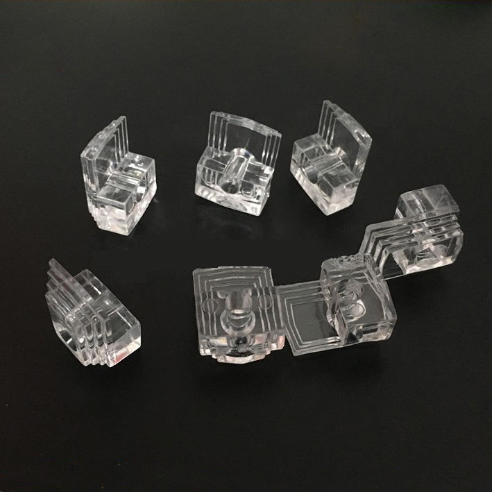 3mm 6mm transparent plastic support glass holder