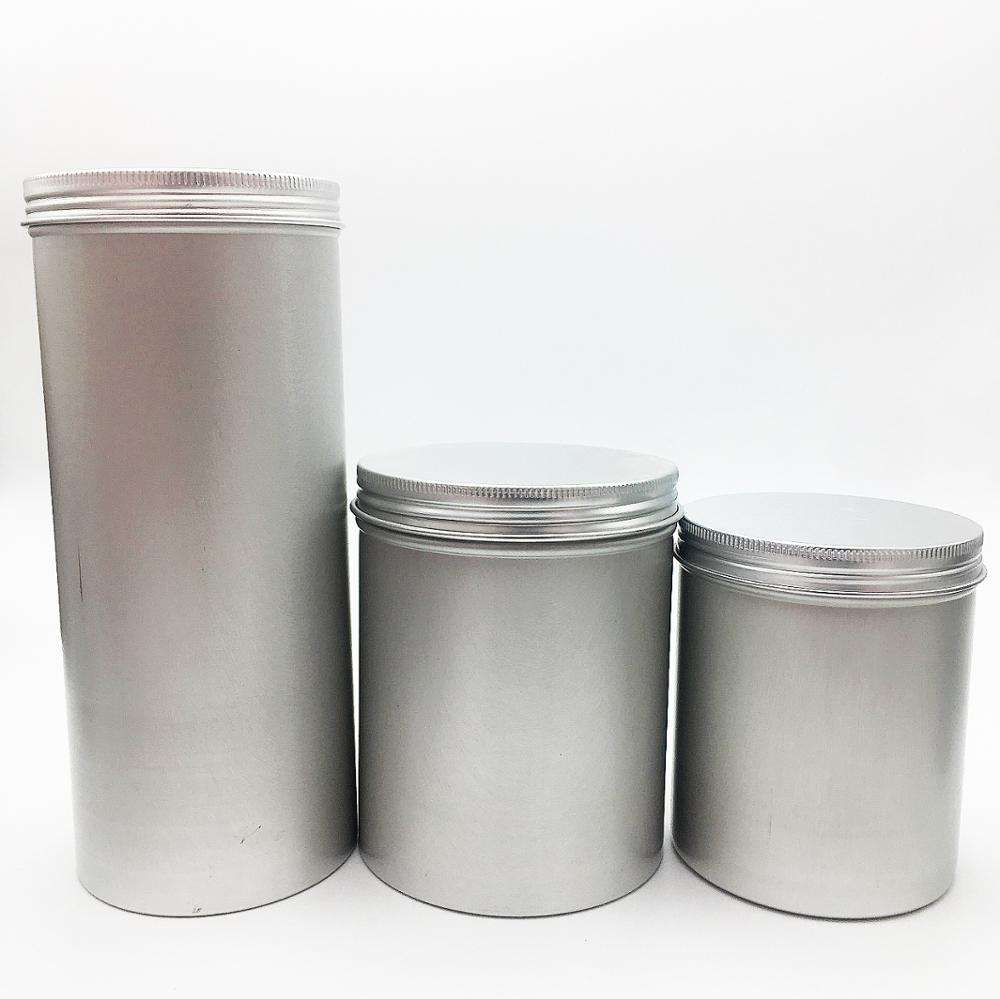 500ml 750ml 1000ml aluminum tin for cookie tin AJ-163C