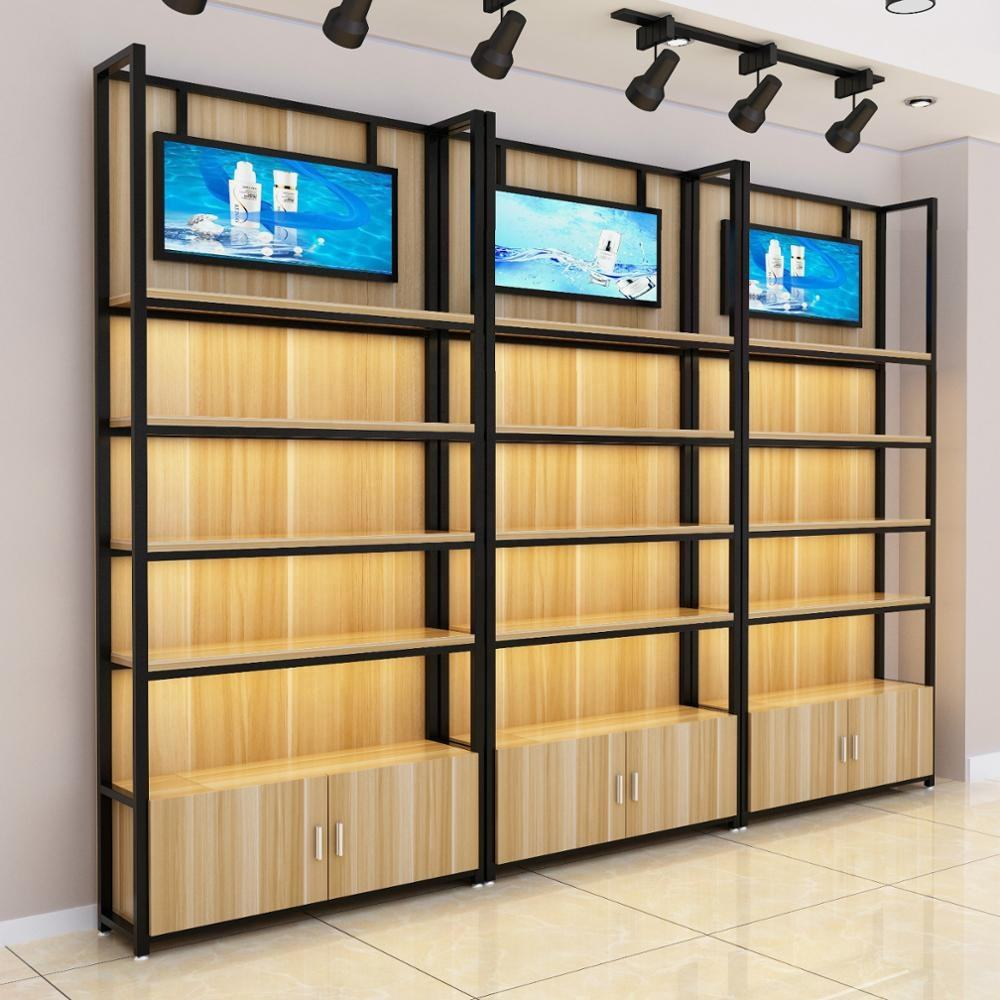 Garment metal rack clothes retail store gondola supermarket shelf trade show display stand clothing shop shelving