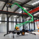 Portable mobile Articulating towable Boom Lift trailer boom lift