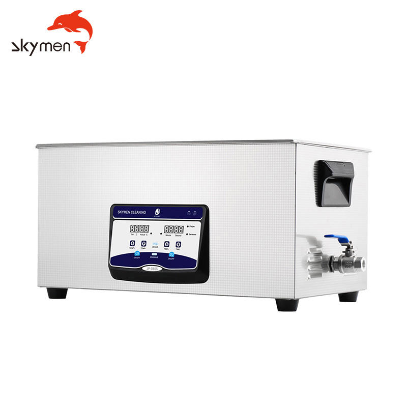 Skymen power adjustable CE ROHS FCC PSE high power adjustable car parts rust dust descaling digital ultrasonic cleaner