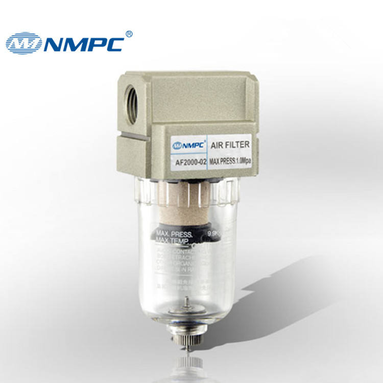 คุณภาพสูง SMC ประเภท 1/4 Compressed Air FILTER PNEUMATIC Air Compressor Air FILTER Regulator AF2000-02