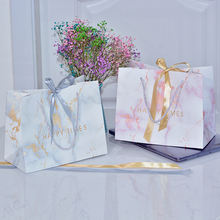 Wholesale Luxury Custom Printed Kraft Paper Shopping Bag with Handle