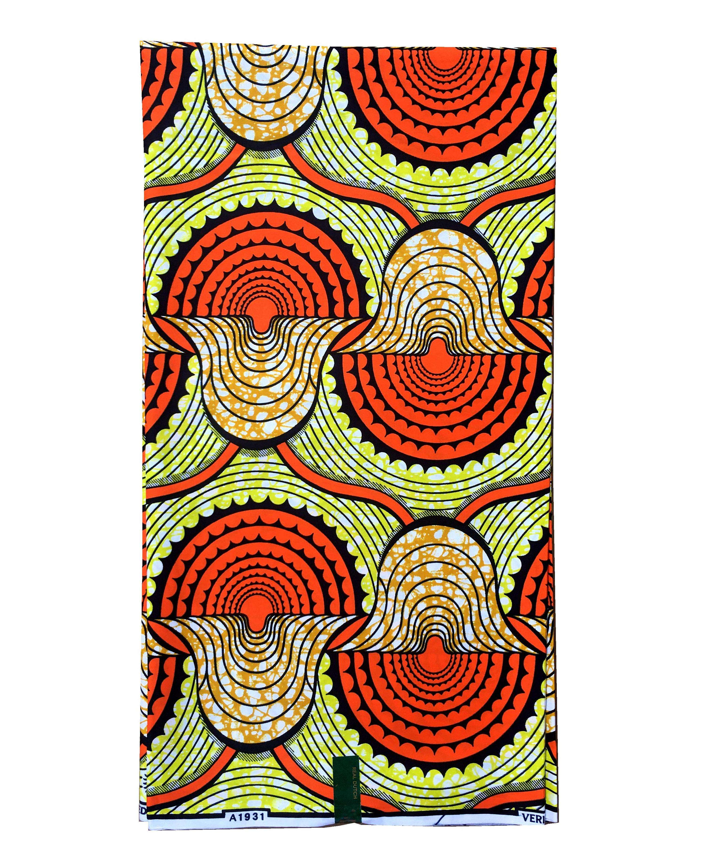 Wholesale 100% Cotton guaranteed real pagne wax print fabric veritable holland african wax fabric block prints