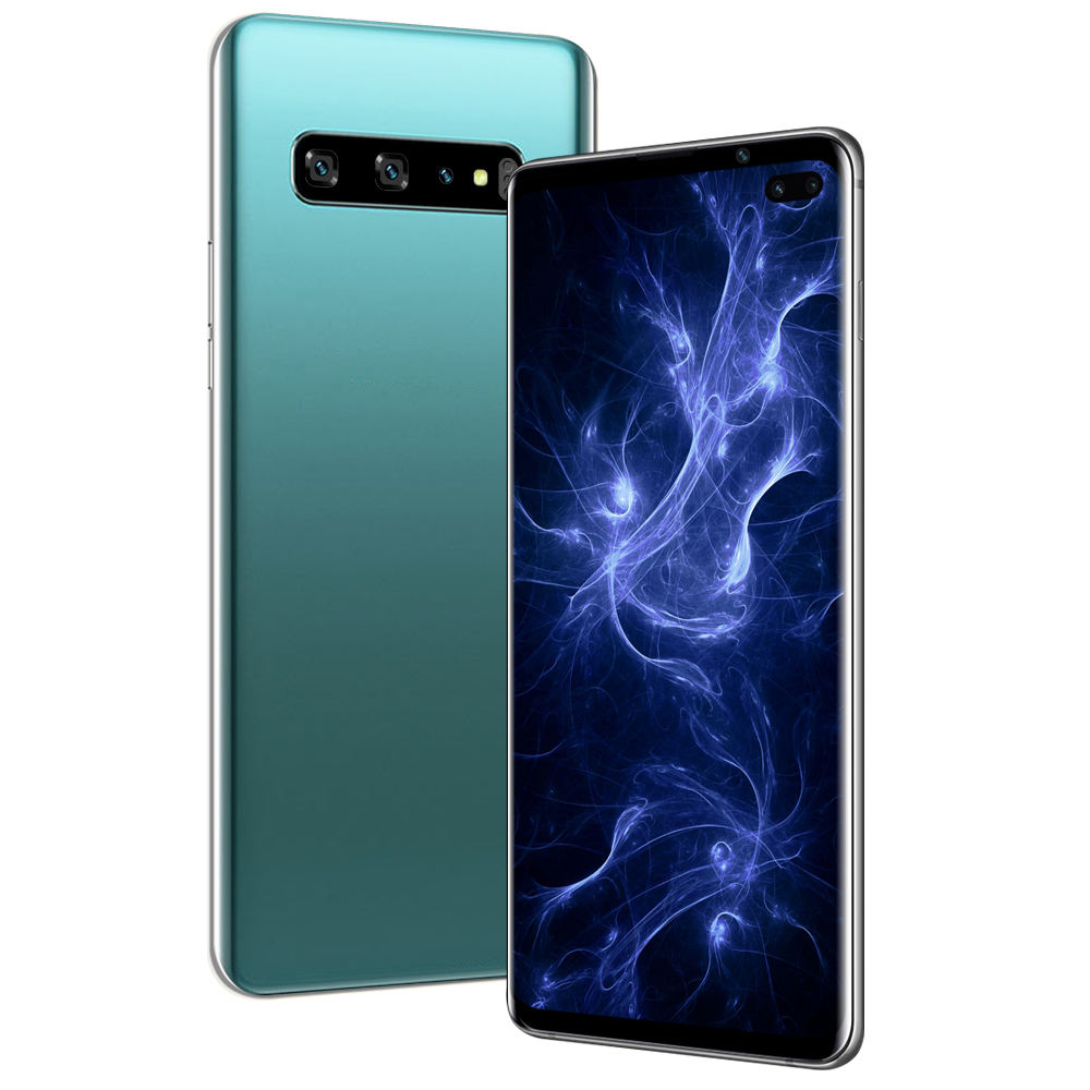S10 4G 6.1inch Android 9.1 Face ID 6GB RAM 128GB ROM 4800mAh Mobile Phone MT6595 Quad Core Fingerprint Smartphone