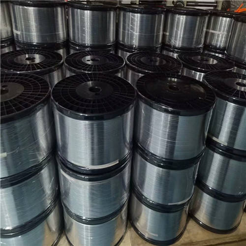 Aluminum Nose Wire/Bar/Piece For Automatic Machine(in roll)