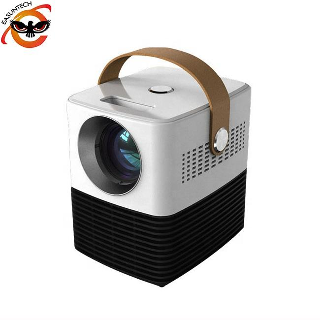 home outside outdoor rechargeable battery lcd led portable mini android video movie wireless film projector C2 for mobile phone