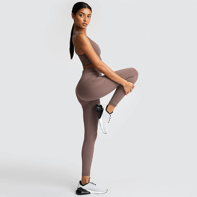 Summer Indoor/Outdoor Outfit Wear Exercise Long Leggings Fitness Wear Flexible Soft Yoga Pants Womens Clothes With Waist Pockets
