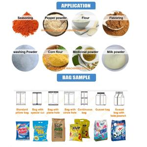Automatic milk powder packing machine automatic protein icing sugar food ice cream powder packaging machine