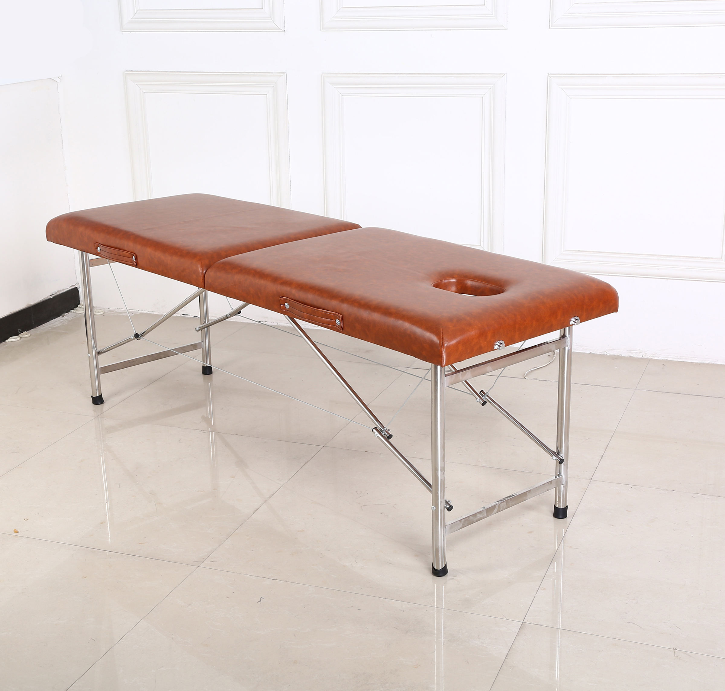 High quality color best price aluminium massage table massage table folding beauty bed massage table