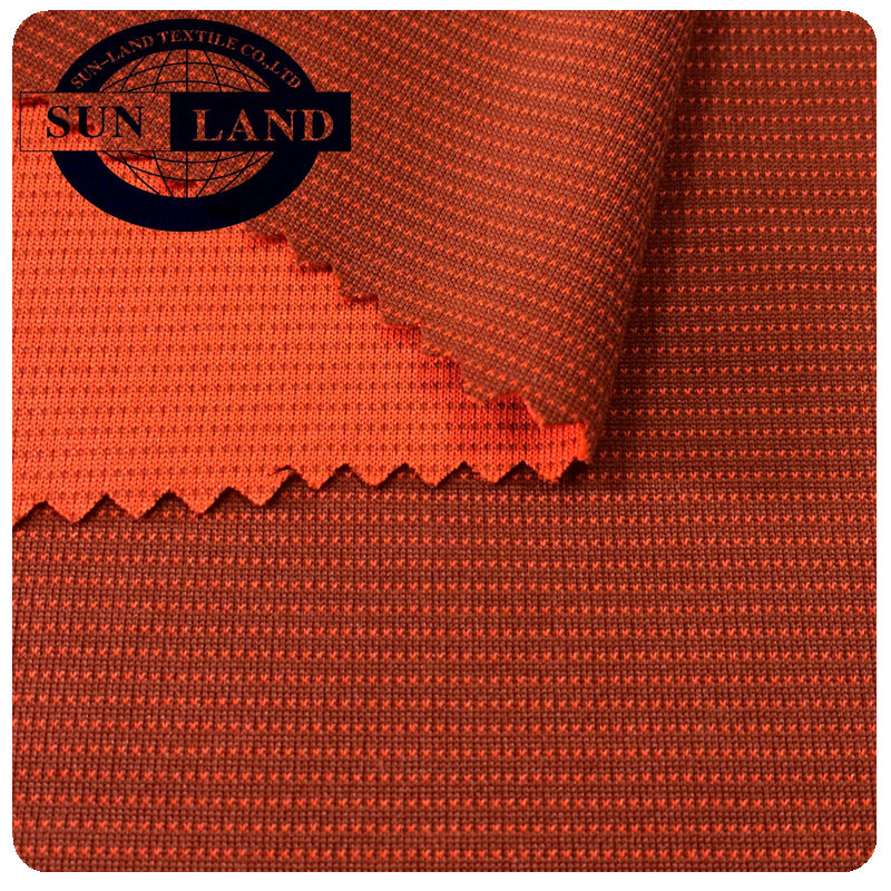 Functional Fabric 100% Functional Polyester Bamboo Charcoal Interlock Fabric For Sportswear