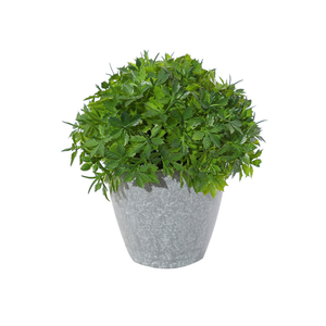 decorative fake artificial green plants in pot fake green plant
