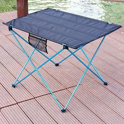 Portable Pliable Table Camping Mobilier D'extérieur Lit Ordinateur Tables Pique-Nique 6061 En Alliage D'aluminium Ultra Léger Support Mural Pliant