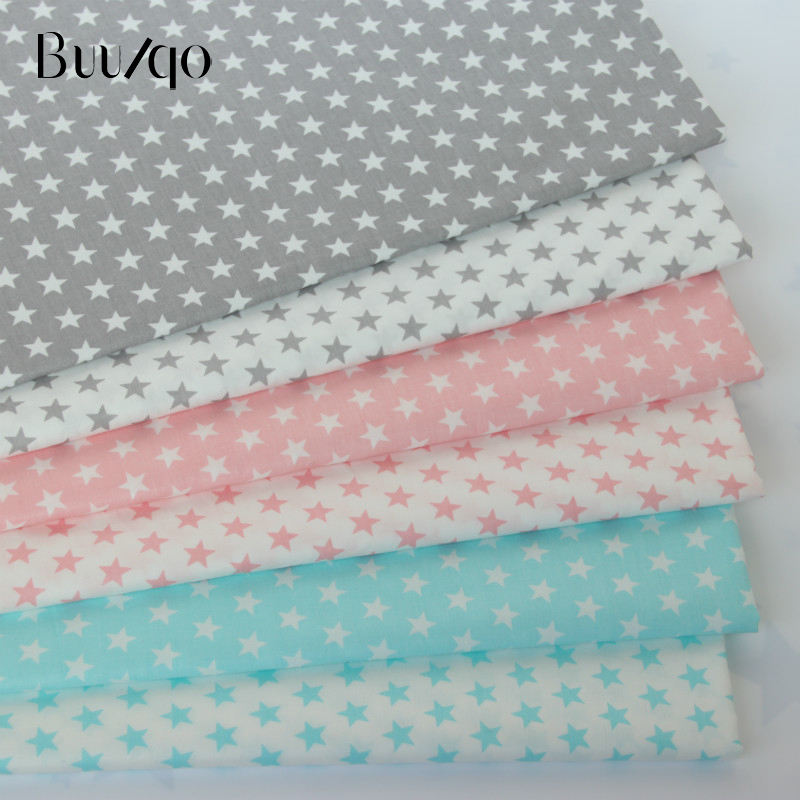 Stars Series 100% Cotton Twill textile Sewing Upholstery Baby Bed Sheets Fabric