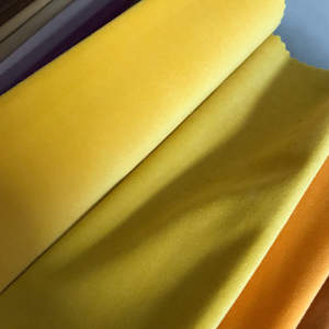 wholesale 100% polyester 235G Silk velvet fabric online for sofa Pillow Full dress