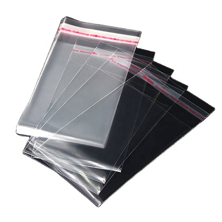 Custom Transparent OPP Manufacturer Packaging, Clear Plastic Self-adhesive Cellophane Bags