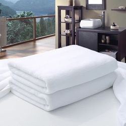Factory Wholesale Luxury Hotel Towels Square For Hotel Bathroom
