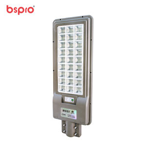 Bspro 300W Led Street Light Lamp Waterproof Ip65 Integrated Solar Powered Street Lights With Pole