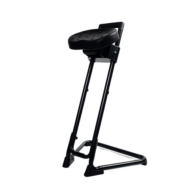 PU Sit Stands Lunch Bar Industrial Chair with Soft and Durable